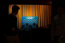 April 30, 2019 - Somerville, MA, U.S - Presidential candidate Pete Buttigieg met with grassroots supporters at the Somerville Theater in Somerville, MA on April 30, 2019. (Credit Image: © Allison Dinner/ZUMA Wire)
