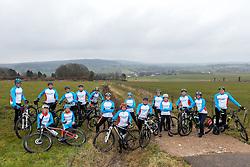 19-03-2016 NED: We Bike 2 Change Diabetes Spain 2016, Epen<br /> In Epenl werd de laatste serieuze training en informatie gegeven voor de Mountainbike Challenge Spanje. We Bike 2 Change Diabetes gaat weer van start in mei 2016 / Teamfoto