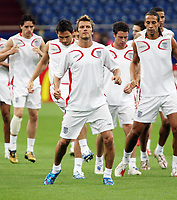 Photo: Chris Ratcliffe.<br />England Training Session. FIFA World Cup 2006. 30/06/2006.<br />David Beckham in training.
