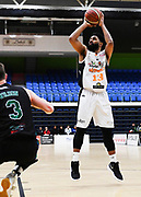 Taylor Hawks Dion Prewster shoots for the basket during a match against the Auckland Super City Rangers.<br /> Super City Rangers v Taylor Hawks, NBL NZ, Trusts Arena, Auckland, New Zealand. 7 July 2018. © Copyright Image: Marc Shannon / www.photosport.nz.