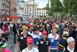 Meeting of Slovenian best winter athletes with their fans after season 2014/15 on May 20, 2015 in Kongresni trg, Ljubljana, Slovenia. Photo by Matic Klansek Velej / Sportida