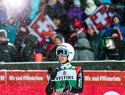 16.12.2017, Gross Titlis Schanze, Engelberg, SUI, FIS Weltcup Ski Sprung, Engelberg, im Bild Simon Ammann (SUI) // Simon Ammann of Switzerland during Mens FIS Skijumping World Cup at the Gross Titlis Schanze in Engelberg, Switzerland on 2017/12/16. EXPA Pictures © 2017, PhotoCredit: EXPA/JFK