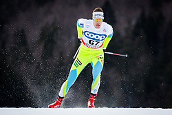 Prosen Luka (SLO) during Man 1.2 km Free Sprint Qualification race at FIS Cross<br /> Country World Cup Planica 2016, on January 16, 2016 at Planica,Slovenia. Photo by Ziga Zupan / Sportida