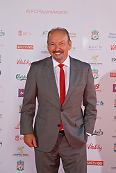 LIVERPOOL, ENGLAND - Tuesday, May 9, 2017: Liverpool FC's new Chief Executive Officer Peter Moore arrives as a guest on the red carpet for the Liverpool FC Players' Awards 2017 at Anfield. (Pic by David Rawcliffe/Propaganda)