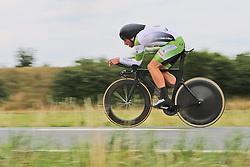 26.06.2015, Einhausen, GER, Deutsche Strassen Meisterschaften, im Bild Jan-Niklas Droste (RSC Giessen u. Wieseck) // during the German Road Championships at Einhausen, Germany on 2015/06/26. EXPA Pictures © 2015, PhotoCredit: EXPA/ Eibner-Pressefoto/ Bermel<br /> <br /> *****ATTENTION - OUT of GER*****