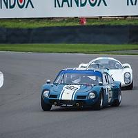 Whitsun Trophy, Official Practice, Saturday 09h20<br /> #160 - 1964 Elva-BMW GT160; #20 - 1968 Porsche 910 at Goodwood SpeedWeek 16 - 18 October 2020