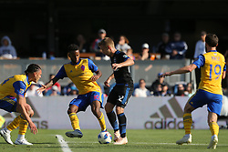 October 21, 2018 - San Jose, California, United States - San Jose, CA - Sunday October 21, 2018: Tommy Thompson during a Major League Soccer (MLS) match between the San Jose Earthquakes and the Colorado Rapids at Avaya Stadium. (Credit Image: © Casey Valentine/ISIPhotos via ZUMA Wire)