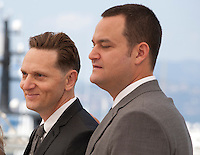 Director Matt Ross and producer Jamie Patricof at the Captain Fantastic film photo call at the 69th Cannes Film Festival Tuesday 17th May 2016, Cannes, France. Photography: Doreen Kennedy