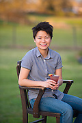 Sook Goh is co-inventor of RAFT Syrups, botanical concoctions for mixing with soda and drinks.