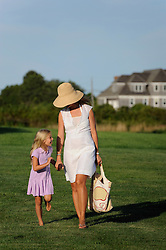 mother and daughter enjoying time together in The Hamptons
