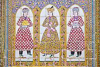 Iran, province du Fars, Shiraz, palais de Naranjestan, résidence historique // Iran, Fars Province, Shiraz, Naranjestan house, historic house