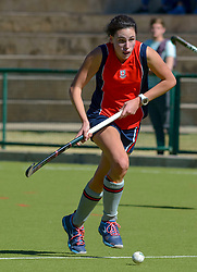 Kaitlin McDiarmid of St Stithians during day one of the FNB Private Wealth Super 12 Hockey Tournament held at Oranje Meisieskool in Bloemfontein, South Africa on the 6th August 2016<br /> <br /> Photo by:   Frikkie Kapp / Real Time Images