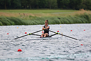 Race: 98  Women's Single Sculls - Championship - Final<br /> <br /> The Metropolitan Regatta 2019<br /> Sunday<br /> <br /> To purchase this photo, or to see pricing information for Prints and Downloads, click the blue 'Add to Cart' button at the top-right of the page.