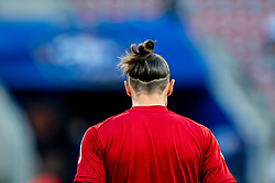 NICE, FRANCE - Wednesday, June 2, 2021: Wales' captain Gareth Bale during the pre-match warm-up before an international friendly match between France and Wales at the Stade Allianz Riviera ahead of the UEFA Euro 2020 tournament. (Pic by Simone Arveda/Propaganda)