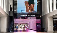 Integrated LED-facade and LED-screen at the the entrance of Harvey Nichols Store in Birmingham, UK.<br /><br />Production by www.vml-technologies.com