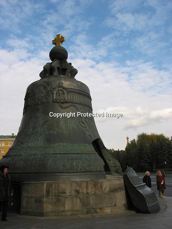 broken tsar bell in The kremlin