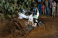 Motor<br /> Paris Dakar 2004<br /> Foto: Digitalsport<br /> Norway Only<br /> <br /> TANGER - ER RACHIDIA <br /> 04.01.2004<br /> PÅL ANDERS ULLEVÅLSETER / KTM SCANDINAVIA