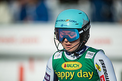 Meta Hrovat (SLO) during second run at the Ladies' Slalom at 56th Golden Fox event at Audi FIS Ski World Cup 2019/20, on February 16, 2020 in Podkoren, Kranjska Gora, Slovenia. Photo by Matic Ritonja / Sportida