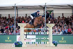 Williams Guy, GBR, Rouge de Ravel<br /> Rolex Grand Prix Jumping<br /> Royal Windsor Horse Show<br /> © Hippo Foto - Jon Stroud