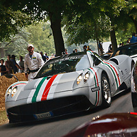 Pagani Zonda at the Goodwood Festival of Speed 2013
