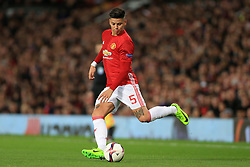 16th March 2017 - UEFA Europa League - Round of 16 - Manchester United v FK Rostov - Marcos Rojo of Man Utd - Photo: Simon Stacpoole / Offside.
