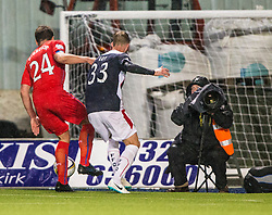Falkirk 1 v 3 Rangers, Scottish League Cup game played 23/9/2014 at The Falkirk Stadium.