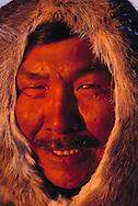 Inuit hunter Thomas Nutararearq, Pond Inlet, Nunavut, Canada