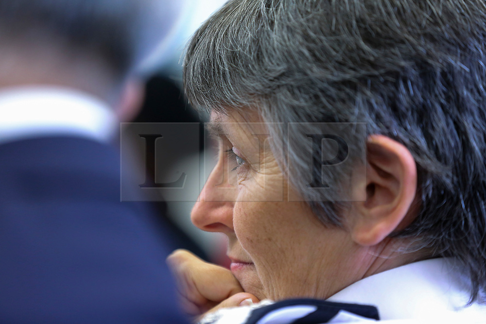 © London News Pictures. 27/06/2017. London, UK. Met Police Commissioner, Cressida Dick at the launch. The Mayor of London, Sadiq Khan and the Met Police Commissioner, Cressida Dick, launches a knife crime strategy at Dwaynamics Boxing Club, which will tackle the deeply concerning rise in knife crime across the capital, especially among young Londoners. Photo credit: Dinendra Haria/LNP