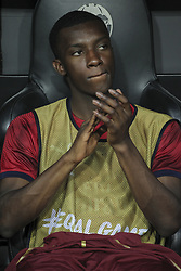 May 9, 2019 - Valencia, Valencia, Spain - Eddie Nketiah of Arsenal in action during UEFA Europa League football match, between Valencia and Arsenal, May 09th, in Mestalla stadium in Valencia, Spain. (Credit Image: © AFP7 via ZUMA Wire)