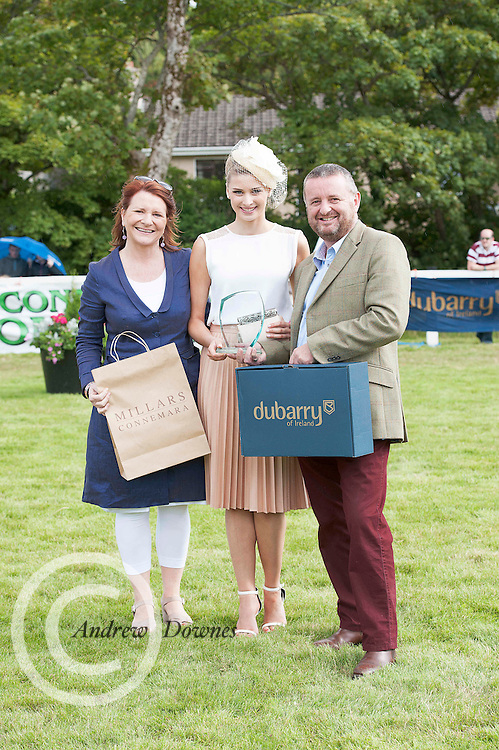 21/09/2014   Repro free George Ledwith with his wife Mary from Athlone  who won the Most Stylish man at the Connemara Pony Show 2014 in Clifden Co. Galway. Photo:Andrew Downes