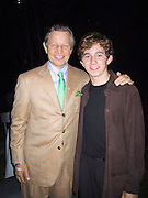 "Michael York & Josh Zuckerman.EXCLUSIVE.""Austin Powers"" Post Premiere Party.Universal Studios.Hollywood, CA.July 22, 2002.Photo By Celebrityvibe.com.."