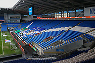 A general view of Cardiff City Stadium, home of Cardiff City FC before the EFL Sky Bet Championship match between Cardiff City and Millwall at the Cardiff City Stadium, Cardiff, Wales on 30 January 2021.
