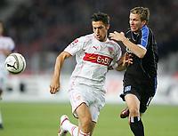 v.l. Mathieu Delpierre, Benajmin Lauth HSV<br /> Bundesliga VfB Stuttgart - Hamburger SV<br /> Norway only