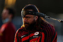 Alec Clarey of Saracens  - Mandatory by-line: Nick Browning/JMP - 26/02/2021 - RUGBY - Butts Park Arena - Coventry, England - Coventry Rugby v Saracens - Friendly