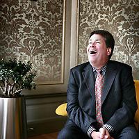 Nederland,Den Haag ,6 september 2007..Jaques Tichelaar,oud- fractievoorzitter van de Partij van de Arbeid..Commissaris van de Koningin in Drenthe.