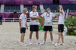 Team Germany, Becker Otto, GER, Deusser Daniel, GER<br /> Olympic Games Tokyo 2021<br /> © Hippo Foto - Dirk Caremans<br /> 07/08/2021