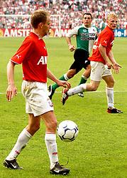 01-06-2003 NED: Amstelcup finale FC Utrecht - Feyenoord, Rotterdam<br /> FC Utrecht pakt de beker door Feyenoord met 4-1 te verslaan / Dirk Kuyt, Stefaan Tanghe