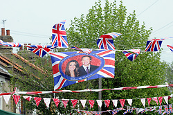 Sidcup, UK  29/04/2011. The Royal Wedding of HRH Prince William to Kate Middleton..Street party Cambridge Road,Sidcup,South East London, celebrating the Royal Wedding..Photo credit should read Grant Falvey/LNP. Please see special instructions. © under license to London News Pictures