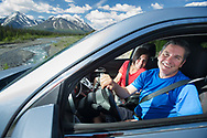 Stock gathering photography shoot for Yukon Tourism promotional materials.