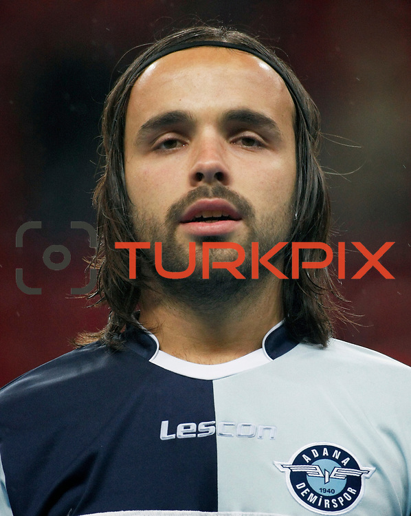 AdanaDemirspor's Soner Ergencay during their Turkey Cup matchday 3 soccer match Galatasaray between AdanaDemirspor at the Turk Telekom Arena at Aslantepe in Istanbul Turkey on Tuesday 10 January 2012. Photo by TURKPIX