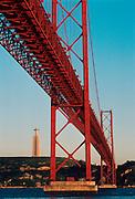 PORTUGAL, LISBON Ponte 25th de Abril over Tagus