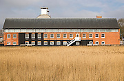 Concert Hall at Snape Maltings in converted industrial building, Suffolk, England, UK
