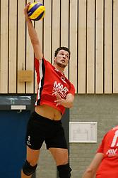 20180324 NED: Topdivisie Maatwerkers VCN - Next Volley Dordrecht, Capelle aan den IJssel <br />Thomas Boerefijn (8) of Maatwerkers VCN <br />©2018-FotoHoogendoorn.nl / Pim Waslander