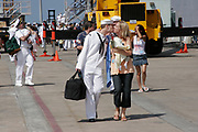 Sailors and Marines Reunite With Their Families, San Diego Naval Base, California (SD)