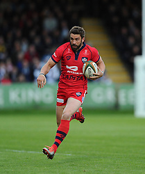 Bristol Rugby Fly-Half Nicky Robinson  - Photo mandatory by-line: Joe Meredith/JMP - Mobile: 07966 386802 - 27/05/2015 - SPORT - Rugby - Worcester - Sixways Stadium - Worcester Warriors v Bristol Rugby - Greene King IPA Championship