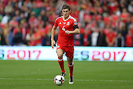 Ben Davies of Wales in action. Wales v Georgia , FIFA World Cup qualifier, European group D match at the Cardiff city Stadium in Cardiff on Sunday 9th October 2016. pic by Andrew Orchard, Andrew Orchard sports photography