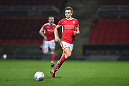 Scott Twine (27) of Swindon Town during the EFL Sky Bet League 2 match between Swindon Town and Yeovil Town at the County Ground, Swindon, England on 10 April 2018. Picture by Graham Hunt.