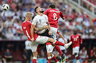 Olivier Giroud of France during the 2018 FIFA World Cup Russia, Group C football match between Denmark and France on June 26, 2018 at Luzhniki Stadium in Moscow, Russia- Photo Tarso Sarraf / FramePhoto / ProSportsImages / DPPI