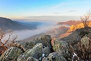 Sunrise Winter Landscape, Eastern Rhodope Mountains, Bulgaria