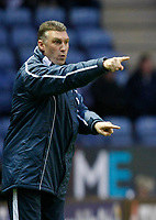 Photo: Steve Bond/Richard Lane Photography. Leicester City v Swansea City. FA Cup Third Round. 02/01/2010. Nigel Pearson instructs